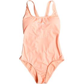 Roxy Fitness Basic Costume da bagno Donna arancione